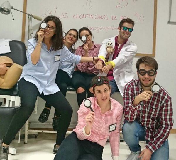 Estudiantes de enfermería