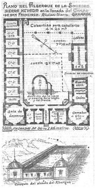 mapa albergue