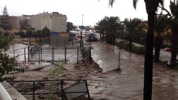 Inundaciones Almería 2012