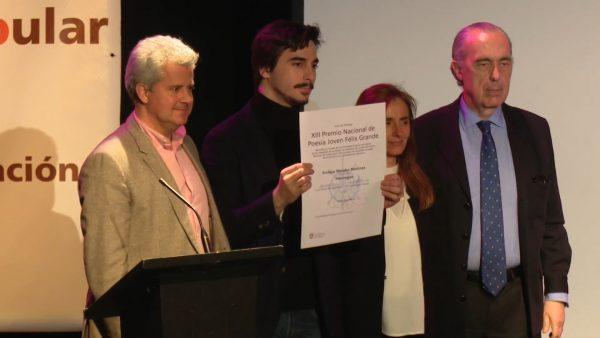 """Un estudiante de la UGR gana el Premio Nacional de Poesía Joven """"José Hierro"""""""