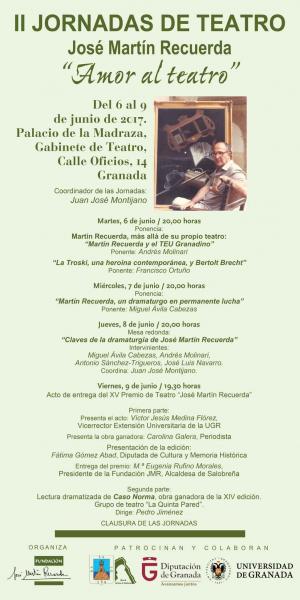 II Jornadas de Teatro José Martín Recuerda