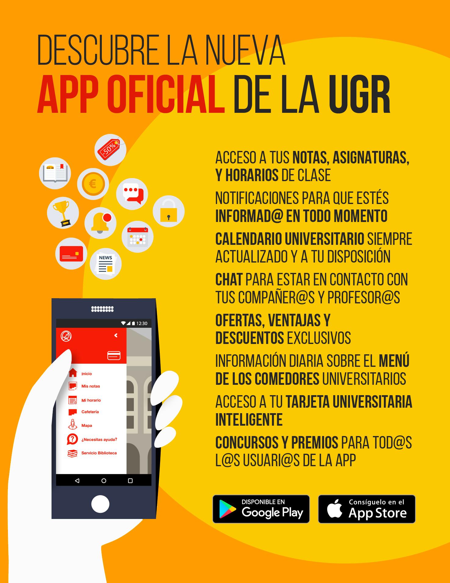 app UGR La Universidad de Granada lanza su APP oficial