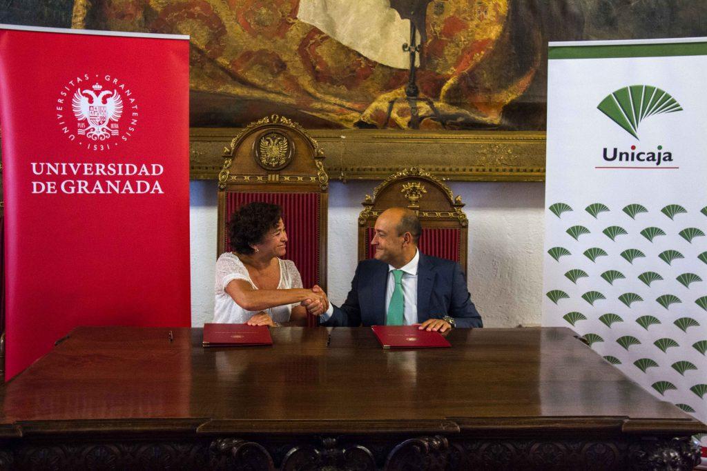 Acuerdo Unicaja - UGR: pago de matrícula financiado