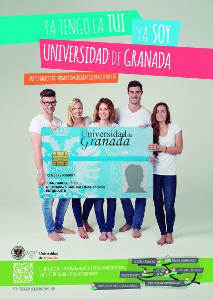 Nuevos servicios de la tui el carn universitario de la for Oficinas santander granada
