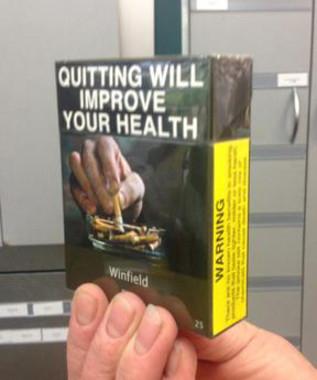 Envase neutro de tabaco