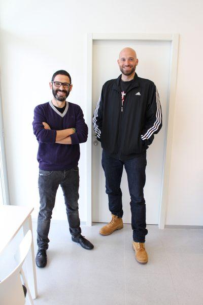 Los investigadores de la UGR José César Perales y Juan Francisco Navas
