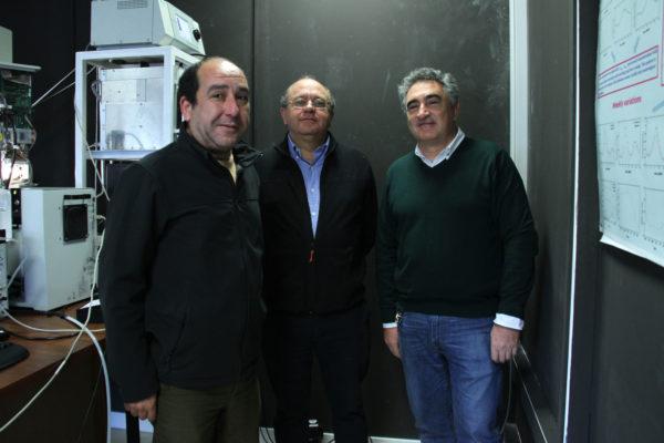 3 Investigadores