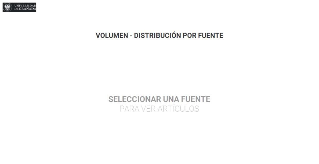 Volumen - Distribución por fuente