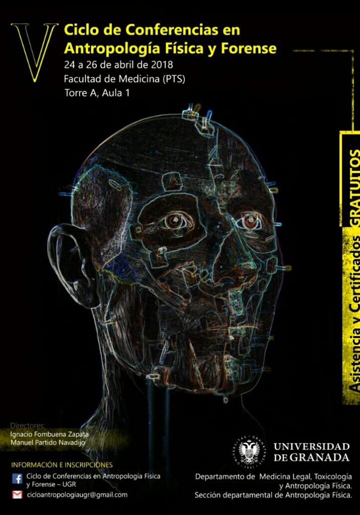 cartel conferencias antropologia forense