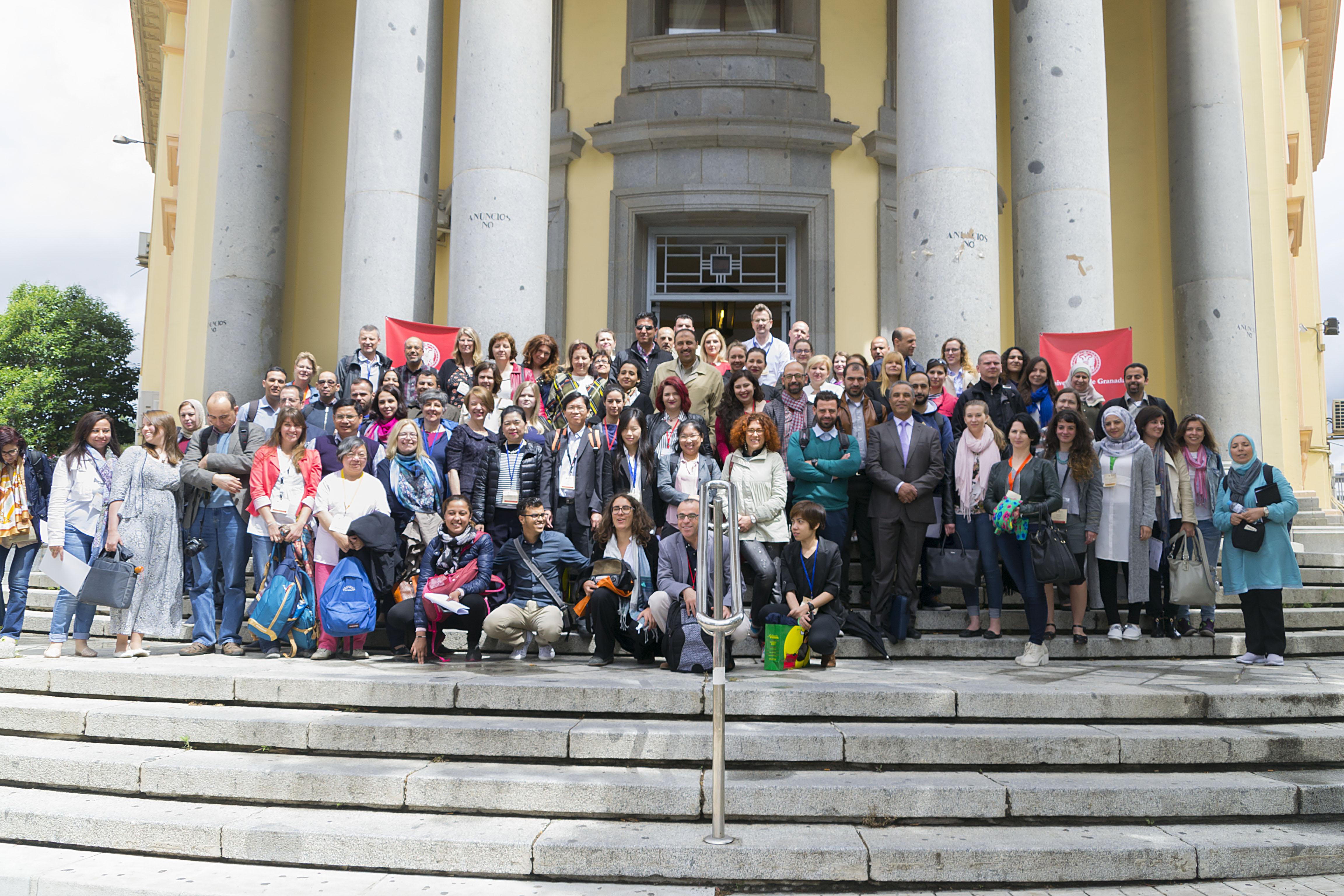 La ugr celebra su 11 staff training week canal ugr for Oficina relaciones internacionales ugr