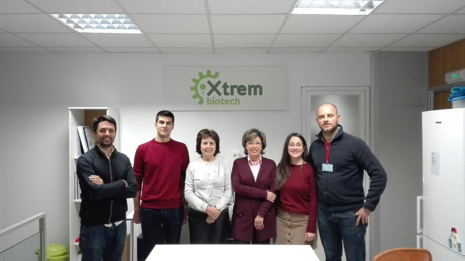 El equipo de Xtrem Biotech, spin-off de la Universidad de Granada