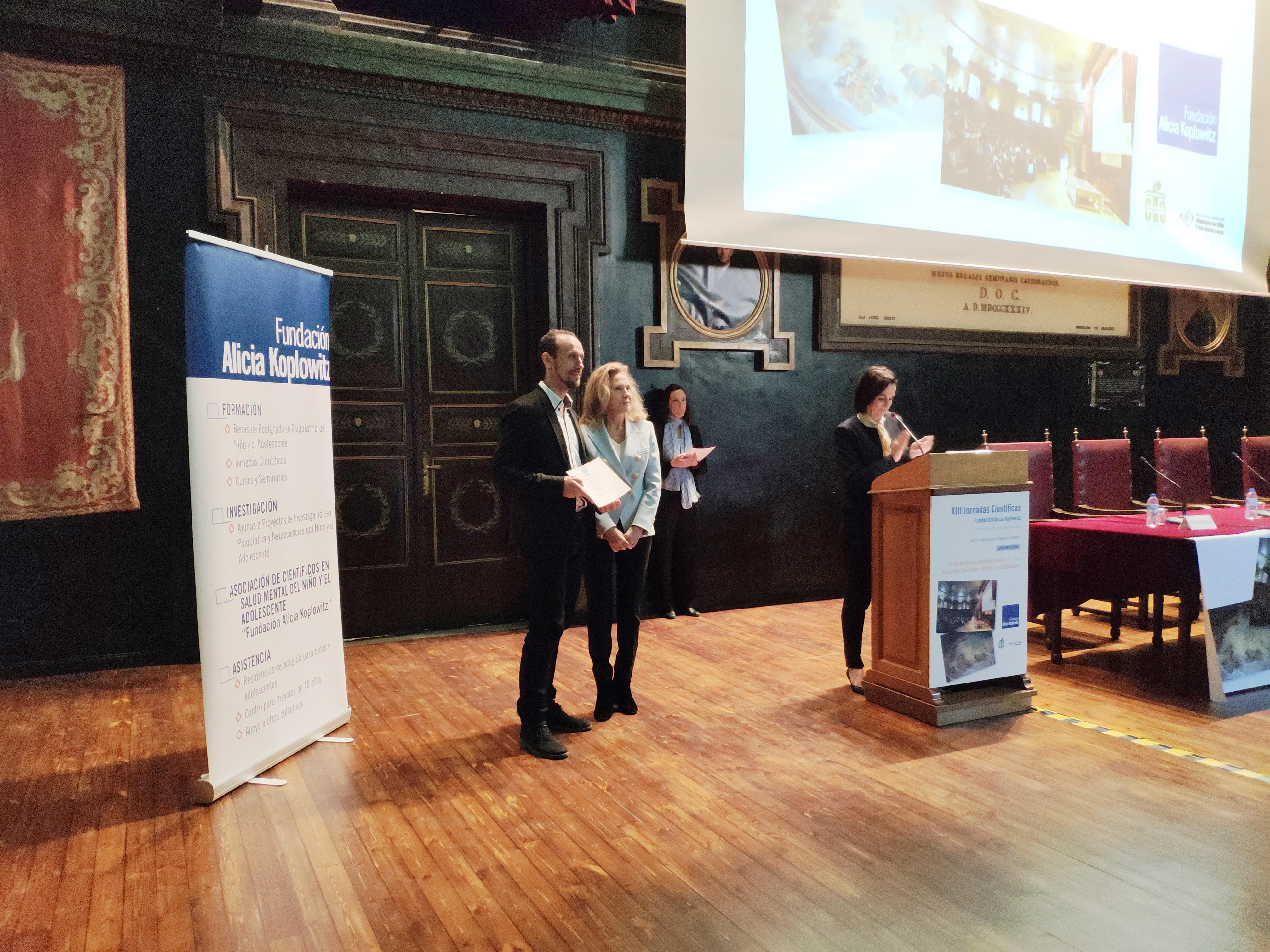 fotos de la entrega de las ayudas de la Fundación Alicia Koplowitz.