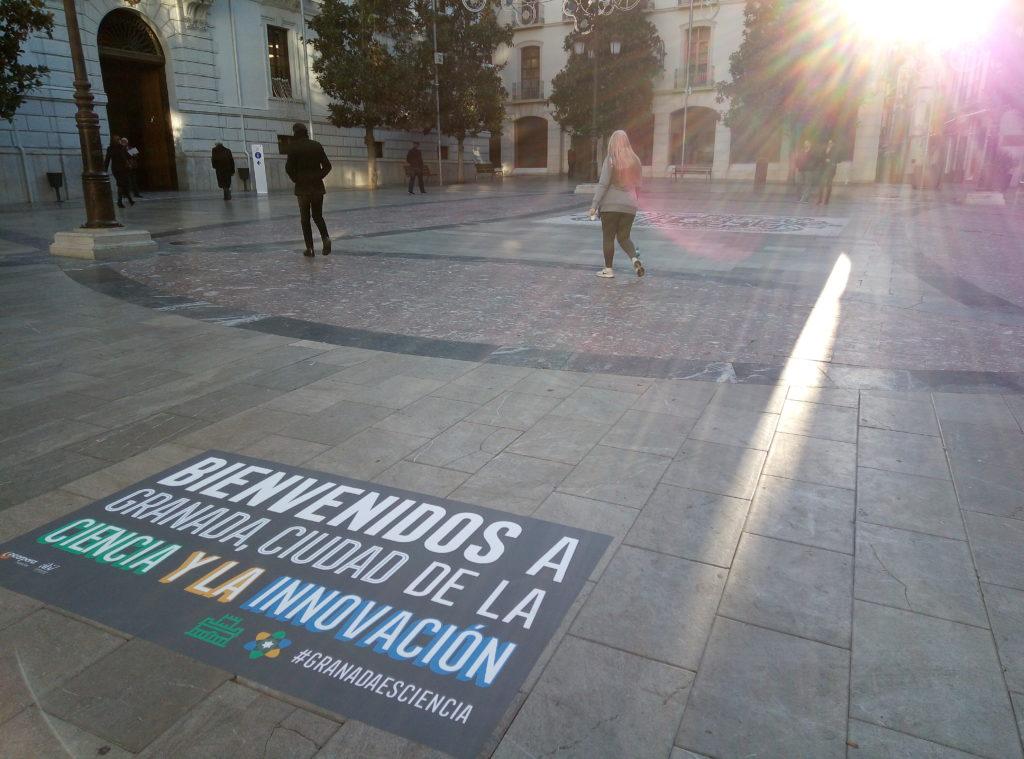 campaña de street marketing Granada
