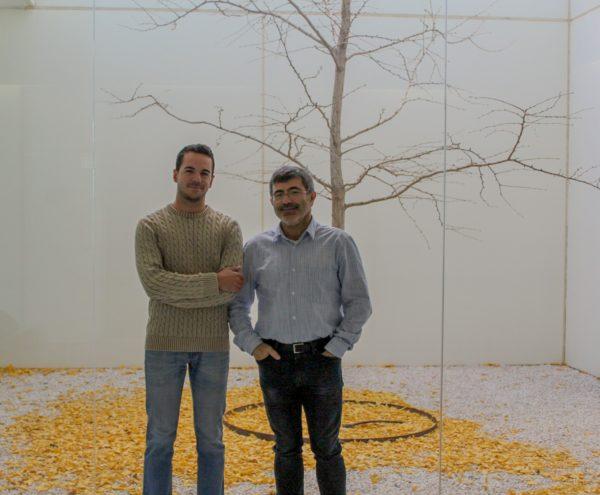Juan y Rafa investigadores experimental