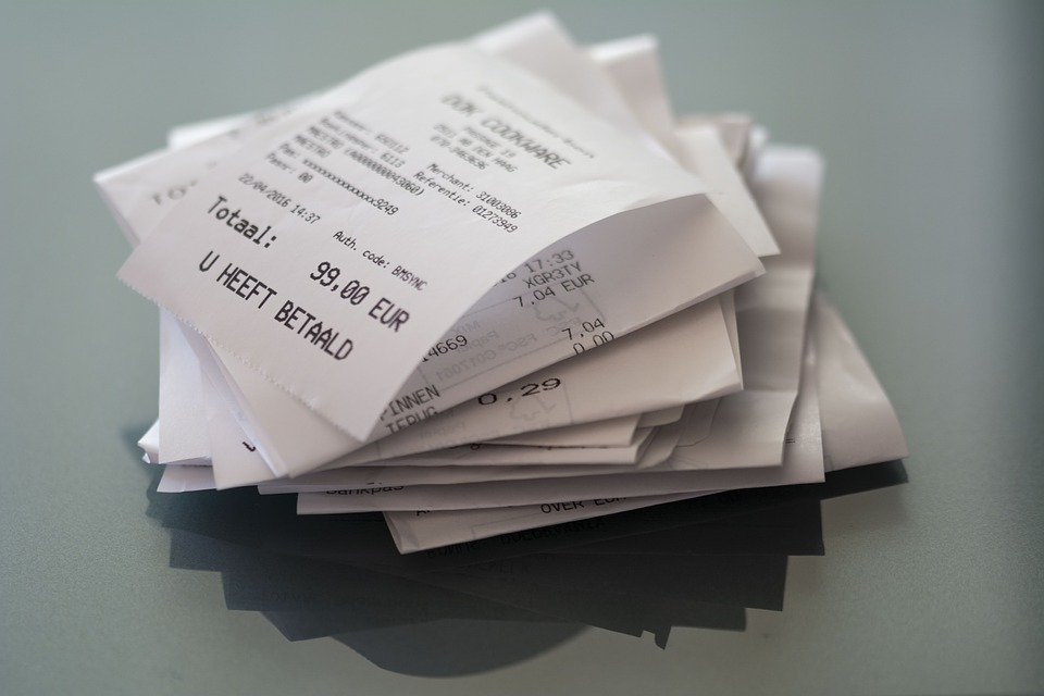 Purchase Receipts with Easily Erasable Ink Contain Cancer-Infertility Inducing Substances